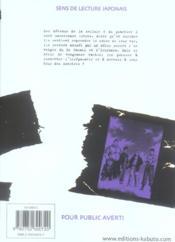 Rainbow T.6 - 4ème de couverture - Format classique