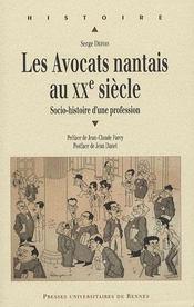 Avocats Nantais (1897 1976) - Intérieur - Format classique