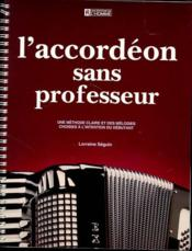 L'accordéon sans professeur - Couverture - Format classique