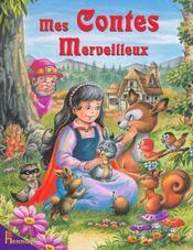 Mes contes merveilleux - Couverture - Format classique