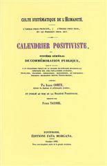 Calendrier Positiviste - Couverture - Format classique