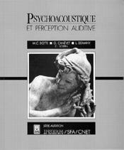 Psychoacoustique - Couverture - Format classique
