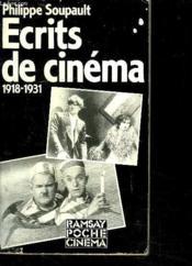 Ecrits de cinema 1918 1931 - Couverture - Format classique