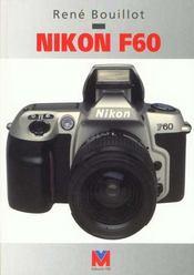 Nikon F60 - Intérieur - Format classique
