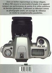Nikon F60 - 4ème de couverture - Format classique