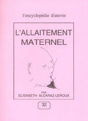 L'Allaitement Maternel - Intérieur - Format classique