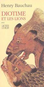 Diotime et les lions - Intérieur - Format classique