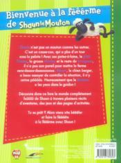 Shaun le mouton ; bienvenue à la fêêêrme - 4ème de couverture - Format classique