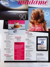 Madame Figaro du 31/03/2012 - Intérieur - Format classique