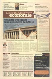 Figaro Economie (Le) N°21027 du 09/03/2012 - Couverture - Format classique