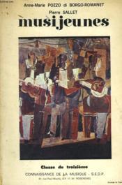 Musijeunes - Classe De Troisieme - Couverture - Format classique