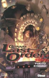 Gunnm last order t.3 - Couverture - Format classique