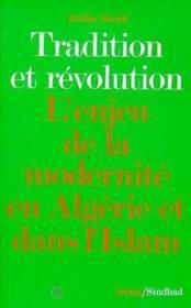 Tradition et revolution - Couverture - Format classique