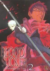Bloodsucker T.2 ; Le Messager Du Yato - Couverture - Format classique