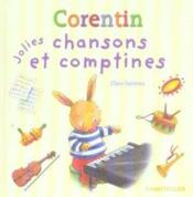 Corentin Jolies Chansons Et Comptines - Couverture - Format classique