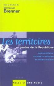 Les Territoires Perdus De La Republique - Couverture - Format classique