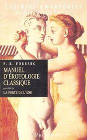 Manuel d'érotologie classique ; la porte de l'âne - Intérieur - Format classique