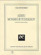 Adieu monsieur tchekhov - Couverture - Format classique