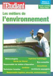 Les métiers et formations de l'environnement - Intérieur - Format classique
