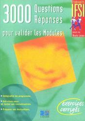 3000 Questions Reponses Pour Valider Les Modules - Intérieur - Format classique