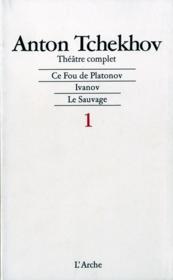 Theatre T1 Tchekhov - Couverture - Format classique