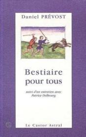 Bestiaire Pour Tous - Couverture - Format classique