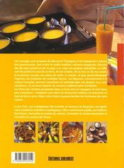 Connaitre la cuisine espagnole - 4ème de couverture - Format classique