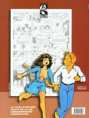 Omaha La Feline T.1 ; Danseuse Exotique - 4ème de couverture - Format classique