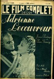 Le Film Complet Du Jeudi N° 2199 - 17e Annee - Adrienne Lecouvreur - Couverture - Format classique