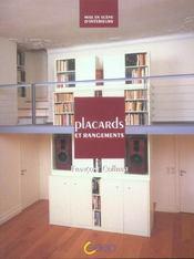 Placards et rangements - Intérieur - Format classique