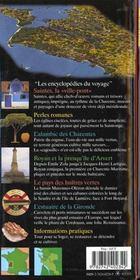 Charente-Maritime Saintonge - 4ème de couverture - Format classique