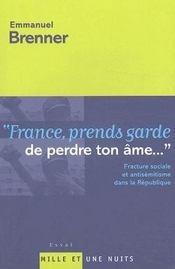 France, Prends Garde De Perdre Ton Ame... - Intérieur - Format classique