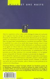 France, Prends Garde De Perdre Ton Ame... - 4ème de couverture - Format classique
