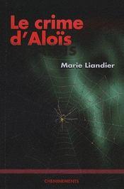 Crime D'Alois (Le) - Couverture - Format classique