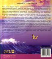 L'énergie de la vague créatrice - 4ème de couverture - Format classique