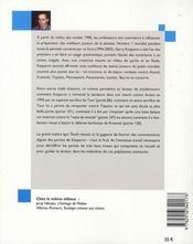 Les meilleures parties de Gary Kasparov t.2 - 4ème de couverture - Format classique
