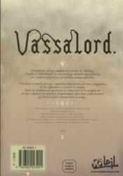 Vassalord t.2 - 4ème de couverture - Format classique