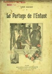 Le Partage De L'Enfant. Collection Modern Bibliotheque. - Couverture - Format classique