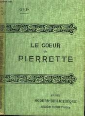 Le Coeur De Pierette. - Couverture - Format classique