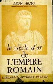 Le Siecle D'Or De L'Empire Romain. - Couverture - Format classique