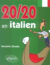 20 sur 20 en italien - Couverture - Format classique