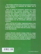 20 sur 20 en italien - 4ème de couverture - Format classique