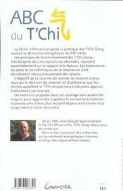 Abc Du T'Chi - Racine De L'Univers - 4ème de couverture - Format classique
