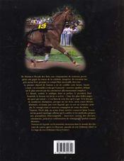 Trotteurs De Legende - 4ème de couverture - Format classique