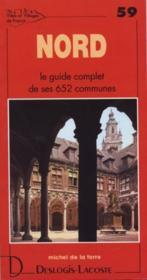 Nord ; le guide complet de ses 652 communes - Couverture - Format classique