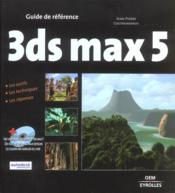 Vente  3ds Max 5  - Jean-Pierre Couwenbergh
