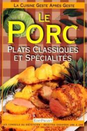 Le porc - Couverture - Format classique