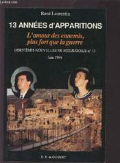 13 Annees D'Apparitions - Couverture - Format classique
