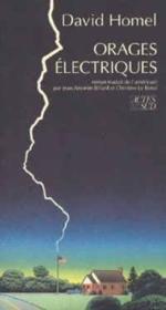 Orages Electriques - Couverture - Format classique
