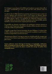 Les plantes dans la bibles - 4ème de couverture - Format classique